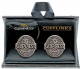 Guinness Antique Label metal cufflinks (sg)